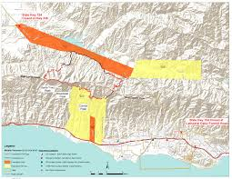 Wildfire Map Whittier Fire Is Now 100 Percent Contained 18 430 Acres Burned Keyt
