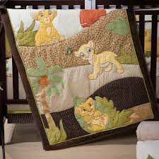 lion king bedding set 7 piece disney baby