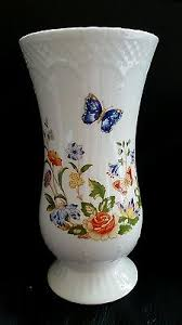 Aynsley China Cottage Garden Vase Aynsley Cottage Garden Vase Great Condition 5
