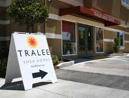 tralee shea homes sales office sign technology