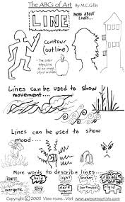 84 best lines art lessons images on pinterest visual
