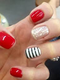 Easter Nail Designs Red Striped Cute Nails Nails Pinterest Makeup Nail Nail
