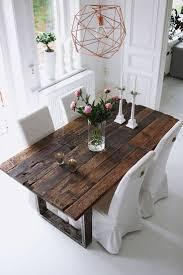 Farmhouse Dining Room Tables Best 25 Rustic Table Ideas On Pinterest Rustic Farm Table Wood