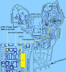 map of ucla location map ucla psychology department