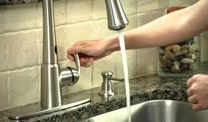 No Touch Kitchen Faucets No Touch Kitchen Faucet No Touch Kitchen Faucet Related To