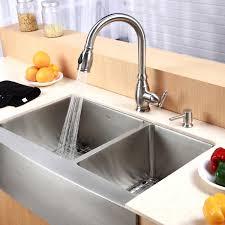 Triple Bowl Kitchen Sinks by Decorating Interesting Kitchen Decor Ideas With Cozy Houzer Sinks