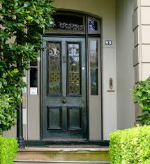 exterior exciting exterior home design with brown storm doors