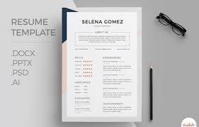 template of professional cv 50 best resume templates for word that look like photoshop designs