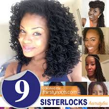 starting sisterlocks with short hair 9 sisterlocks hairstyles that will intrigue you to lock