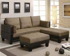 coaster 300160 contemporary sofa bed group with 2 ottomans ebay