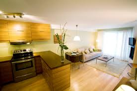 kitchen livingroom kitchen and living room together home design