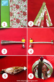 how to make easy christmas paper ball decorations easy on the tongue