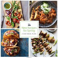 Healthy Menu Ideas For Dinner Dinner Plans Eatingwell
