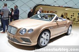 custom bentley convertible 2015 bentley continental gt 2015 geneva live