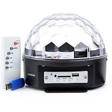 supertech led magic ball light instructions stage lighting ls blusmart bluetooth crystal magic ball rgb