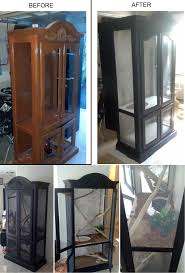 How To Make A Gun Cabinet by Curio Cabinet Refinished Cabinets Gun How To Buildo Cabinet Best