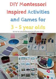 montessori nature diy montessori inspired activities and games