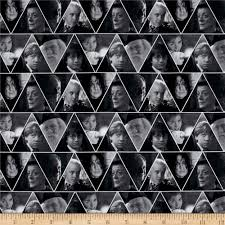 Harry Potter Movies by Harry Potter Digital Triangles Multi Discount Designer Fabric