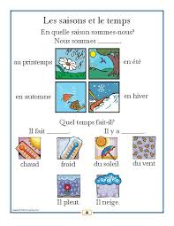 french weather poster weather worksheets and posters