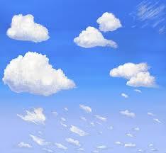 clouds designs murals casart coverings