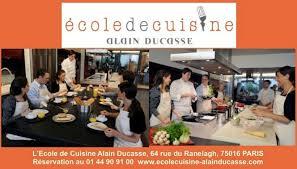 ecole cuisine ducasse école d alain ducasse à a accueilli olivier nasti