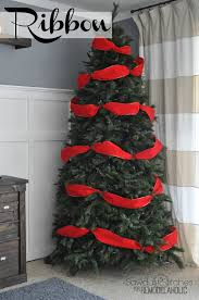 christmas how to decorate your christmas tree with ribbon