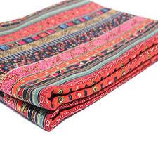 tissu pour canape ethnique tissus coton tissu pour patchwork couture tissu pour