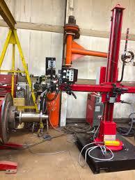 column and boom welding manipulators spectrum welding supplies ltd