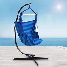 belleze hammock stand c frame solid steel for hanging air porch