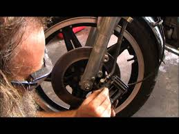 front brake pad service replacement 1981 honda cm400a youtube
