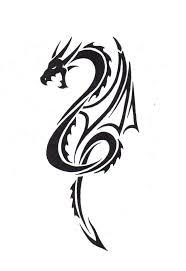 tribal chinese dragon tattoos 35 best tattoo dragon images on pinterest tribal dragon tattoos