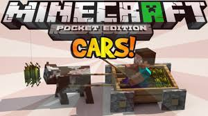 minecraft car pe how to make working cars in minecraft pocket edition no mods