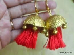 punjabi jhumka earrings all new trends in fashion six beautiful accessories every punjabi