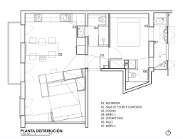 Spanish Floor Plans Piso Pujades11 A Bright And Airy Apartment In Barcelona