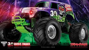 grave digger monster truck rc traxxas 30th anniversary grave digger rcnewz com