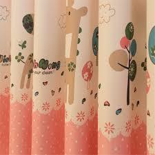 jrd baby animals sheer curtains blinds cartoon horse window