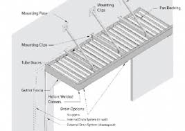 Standing Seam Metal Awning Metal Roofs And Canopies Awnings Of Hollywood