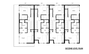 row house floor plans gallery of emerson rowhouse meridian 105 architecture 13