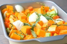 roasted butternut squash soup ahead of thyme