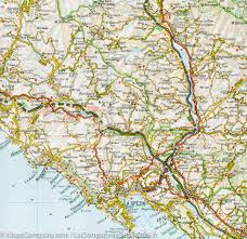 Map Of Capri Italy by Map Of Liguria Italy Touring U2013 Mapscompany