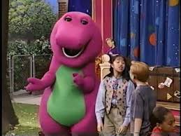 Barneyintros Youtube by Barney S Talent Show 1996 Youtube