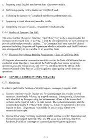 Waitress Job Description Resume by Justice Department Seeks Ebonics Experts The Smoking Gun