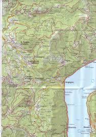 Lake Cuomo Italy Map by Italy