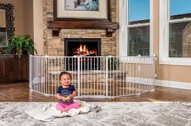 amazon com regalo 192 inch super wide gate and play yard white