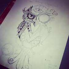 surreal owl wip by surrealcreativity on deviantart