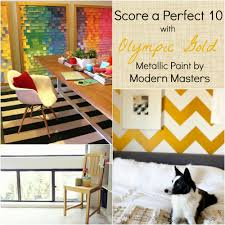 olympic gold metallic paint modern masters cafe blog