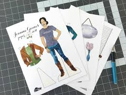 Houseboat Chip And Joanna Gaines Free Printable Joanna Gaines Paper Dolls Free Fixer Upper Paper