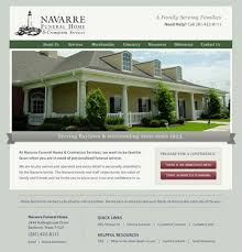 funeral home web design designs and colors modern luxury with