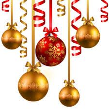 christmas baubles clipart u2013 happy holidays