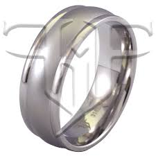 modern mens wedding bands stainless steel modern casual ring wedding band